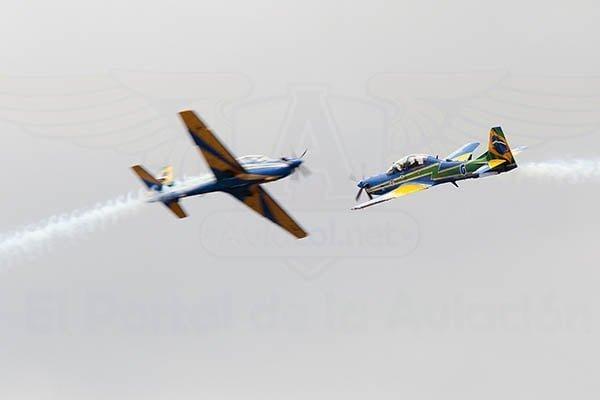 Esquadrilha da Fumaça en F-AIR Colombia 2017.