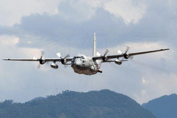 Demostración del sistema MFFS II en Hércules C-130 de la Fuerza Aérea Colombiana (FAC).