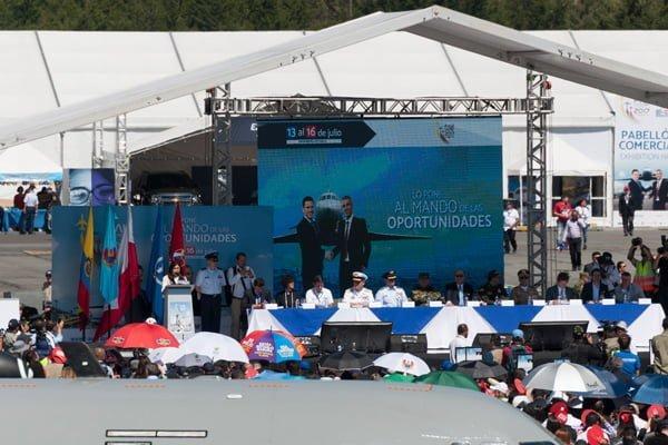 Inauguración oficial de F-AIR Colombia 2017.