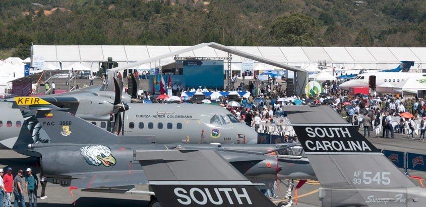 Inicio de F-AIR Colombia 2017.