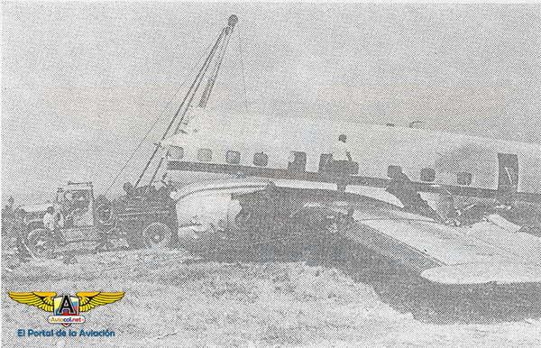 Accidente Lockheed L-1649A de Aerocóndor en Eldorado (Bogotá).