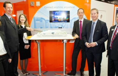 Air Astana, Inmarsat y Rockwell Collins en presentación de GX Aviation.