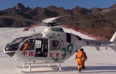 Presencia de Airbus Helicopters en China.