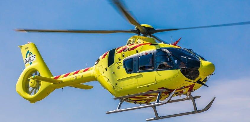 Airbus Helicopters H135 de NOLAS equipado con Helionix.