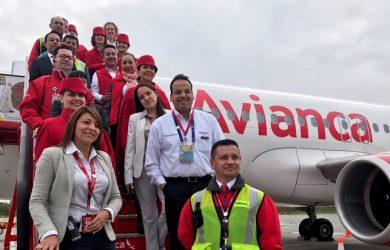 Vuelo del Papa Francisco de Bogotá a Medellín con Avianca.