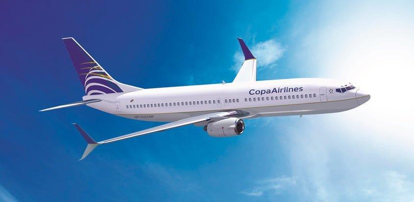 Boeing 737-800 de Copa Airlines.