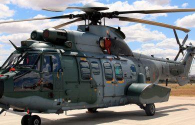 Airbus Helicopters H225M de la Fuerza Aérea Brasileña (FAB).