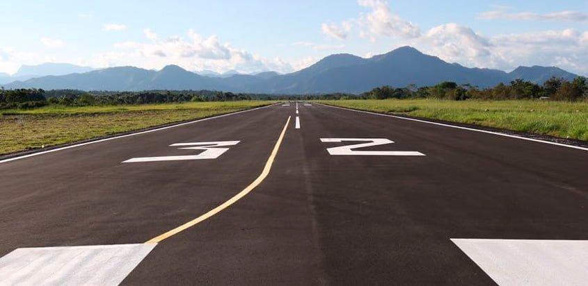 Pista del Aeropuerto Eduardo Falla Solano de San Vicente del Caguán.