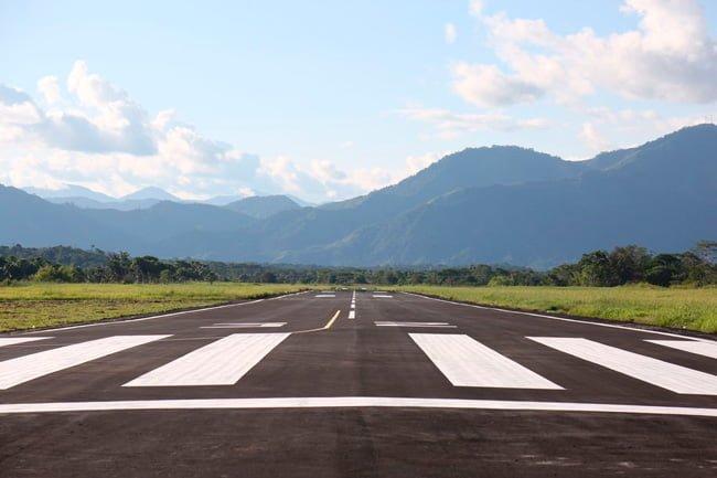 Pista Aeropuerto Eduardo Falla Solano de San Vicente Caguán.