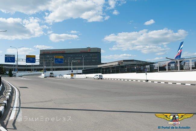 Aeropuerto Sheremétievo de Moscú, Rusia.