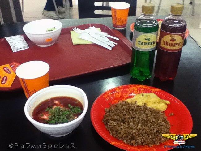 Borscht, plato típico de la cocina rusa.