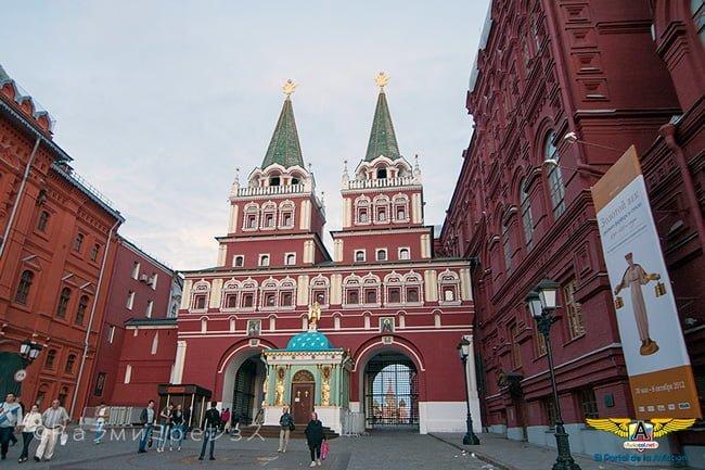 Puertas de la Resurección, entrada a la Plaza Roja.