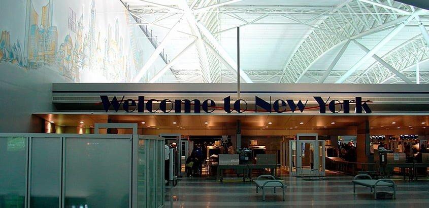 Aeropuerto Internacional John F. Kennedy de Nueva York.