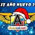 Portada Aviacol.net Navidad - Año nuevo 2018.