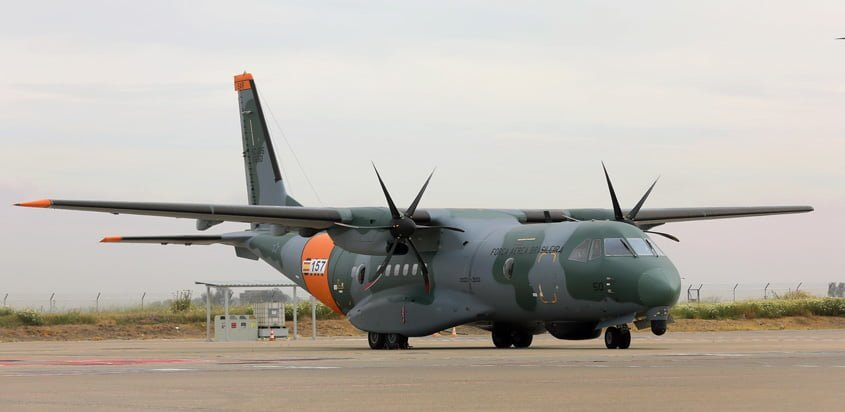 Airbus C295 de la Fuerza Aérea Brasileña (FAB).