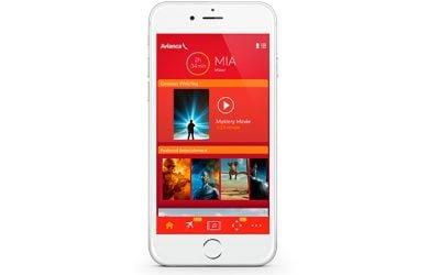 App de Entretenimiento a bordo de los Airbus A318 de Avianca.
