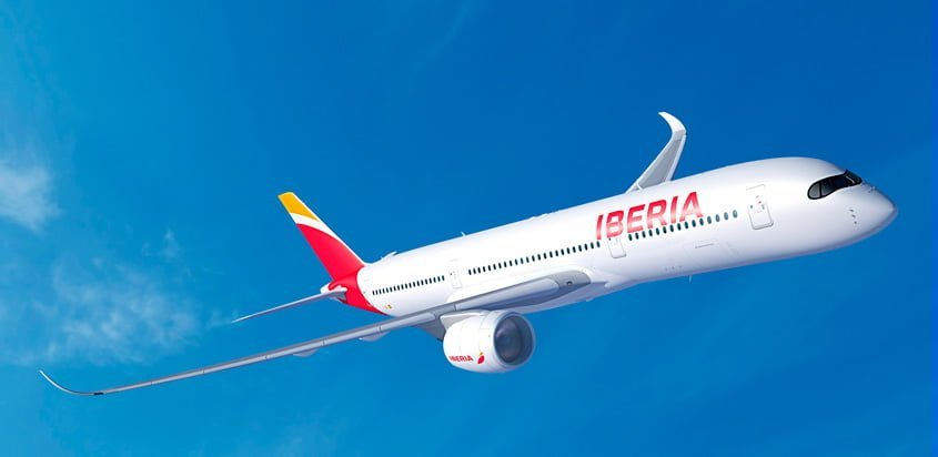 Airbus A350-900 de Iberia.