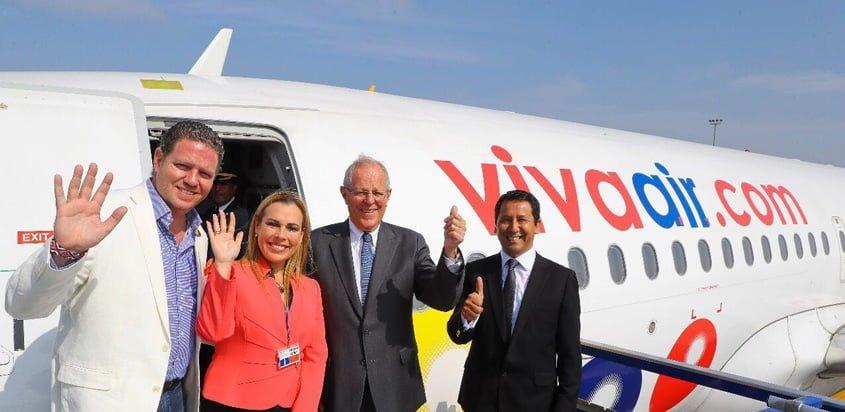 Inicio de operaciones de Viva Air Perú.