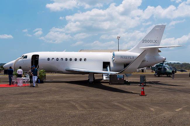 Dassault Falcon 2000.