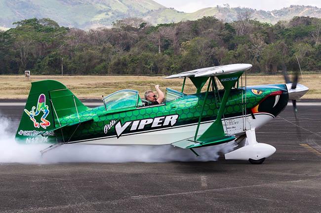 Viper en Aero Expo Panamá 2018.