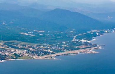 Aeropuerto Simón Bolívar de Santa Marta, Magdalena.