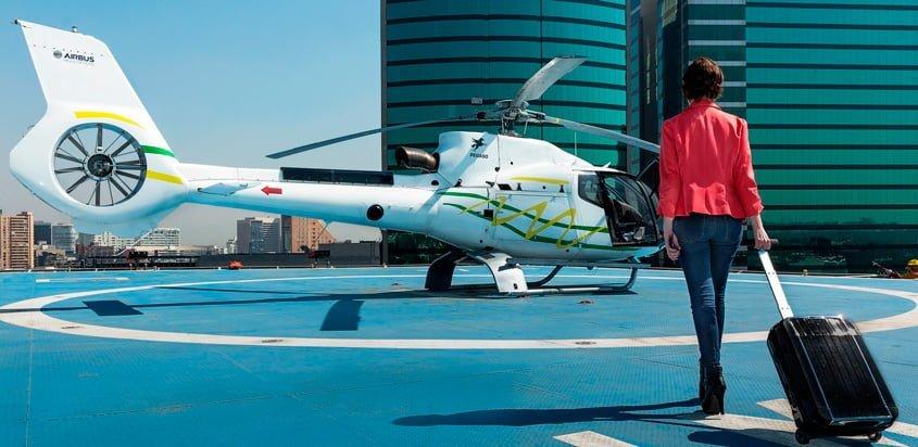 Voom de Airbus Helicopters en Ciudad de México.