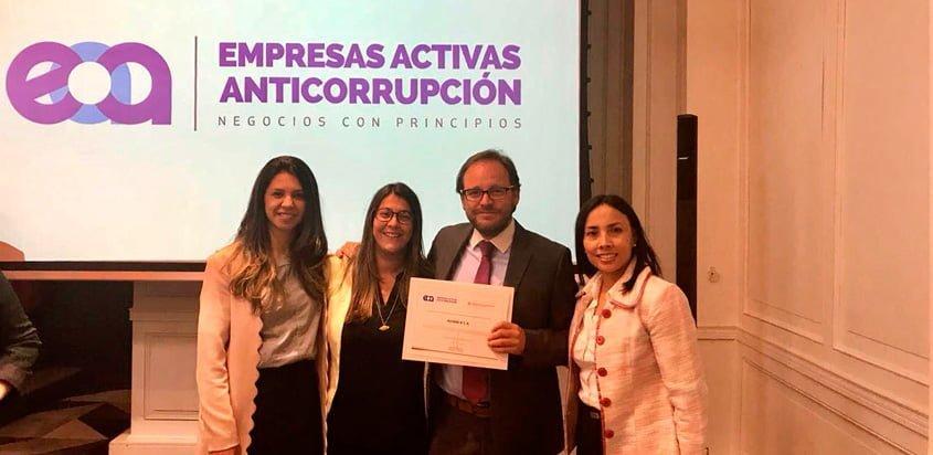 De izq. a derecha: Maria Iragorri, Lina Torres, Guillermo Pardo y Gloria Bravo