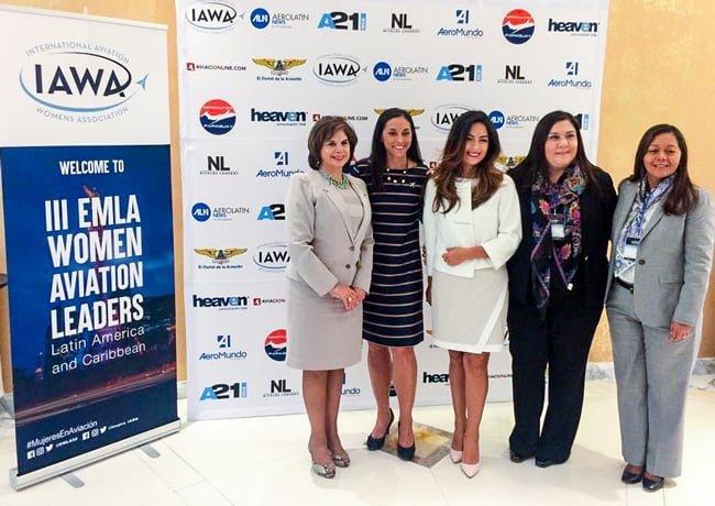 III Encuentro de Mujeres Líderes en Aviación desarrollado en Ciudad de México.