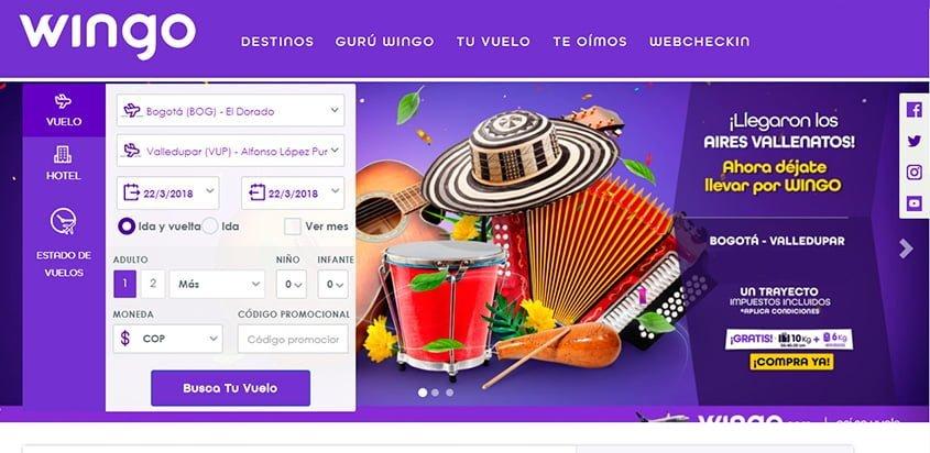 Promoción de Wingo por el Festival de la Leyenda Vallenata 2018.