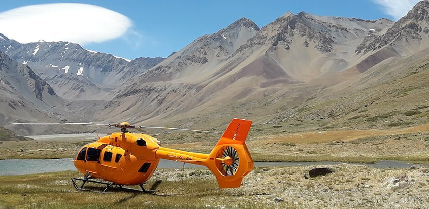 Airbus Helicopters H145 de Ecocopter en Chile.