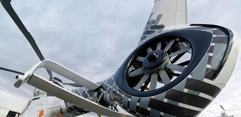 Fenestron de un Airbus Helicopters.