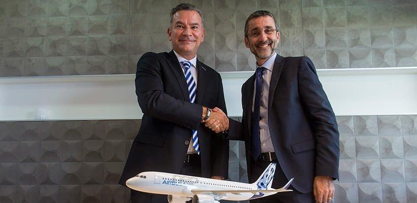 Airbus y JetSmart firman acuerdo para implementación de NavBlue.