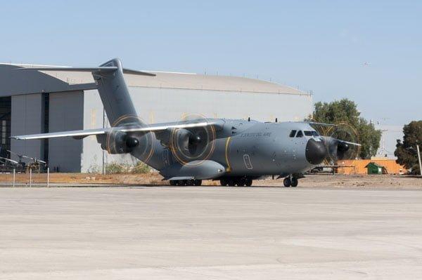 Airbus A400M Avión Transporte Militar