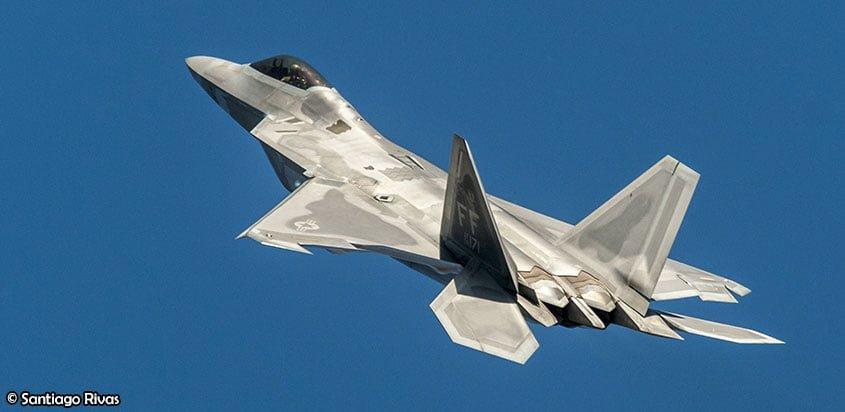 F-22 Raptor en FIDAE 2018