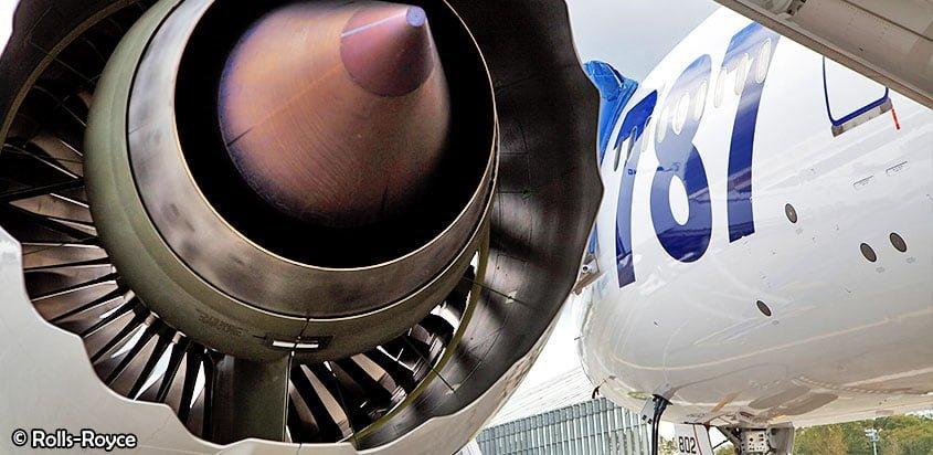 Continúan los problemas con Motores Rolls-Royce Trent 1000 | volavi