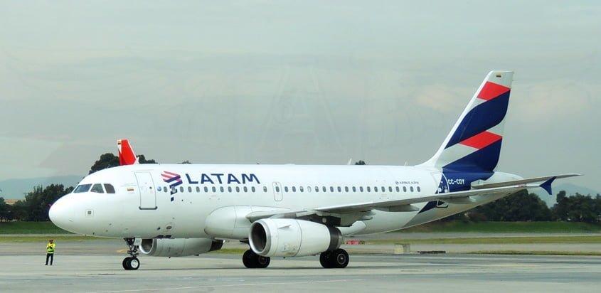 Airbus A319 de LATAM Airlines.