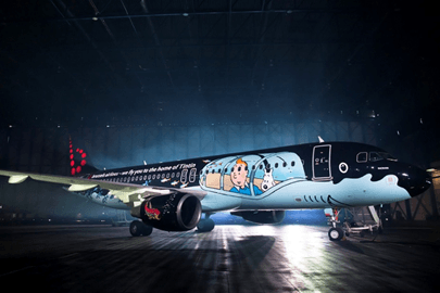 Airbus A320 Brussels Airlines Rackham