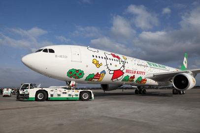 Airbus A330 Eva Air Hello Kitty