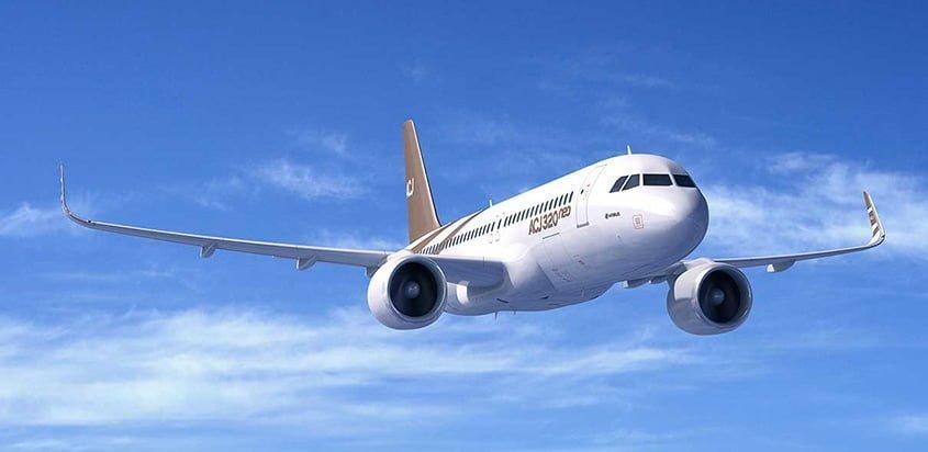 Airbus ACJ320neo.