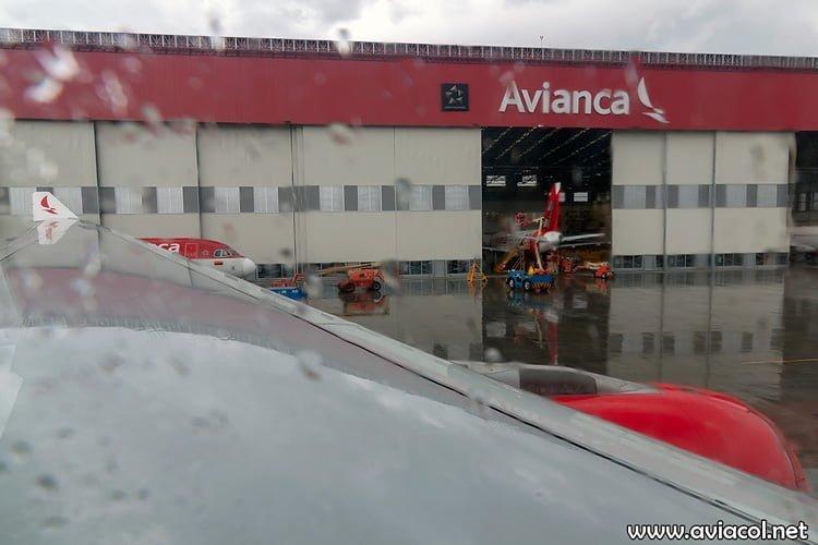 Plano izquierdo del nuevo Airbus A330-300 de Avianca.