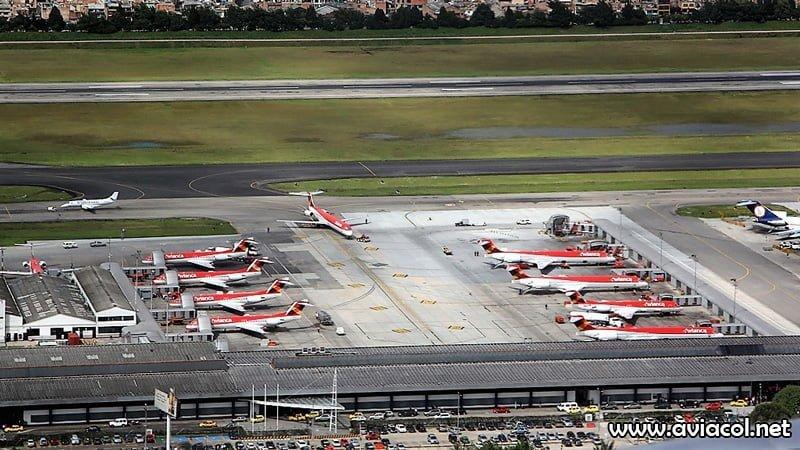 Terminal Puente Aéreo de Avianca en 2008.