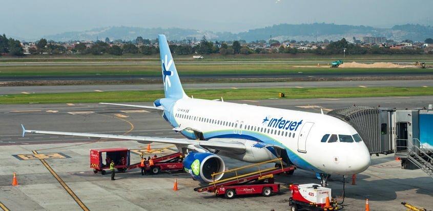 Airbus A320 de Interjet.