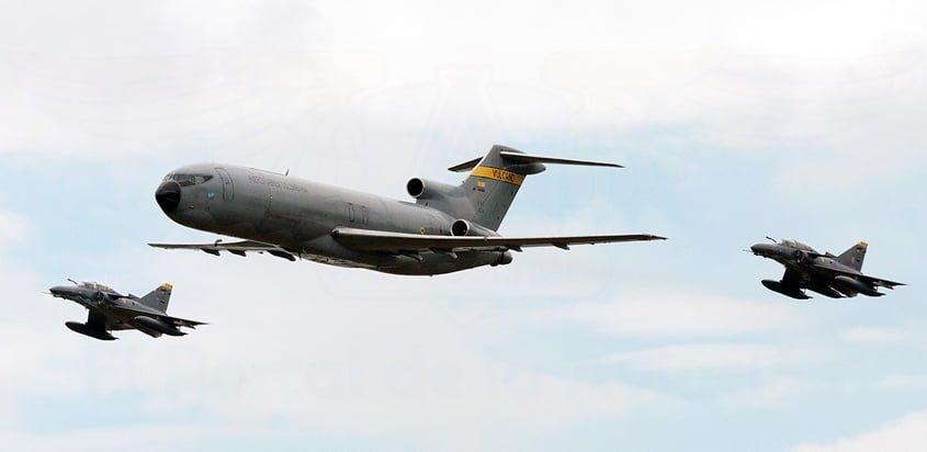 Fuerza Aérea Colombiana en F-AIR 2017.