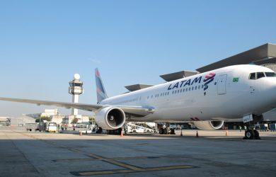 Boeing 767-300 de LATAM Airlines Brasil.