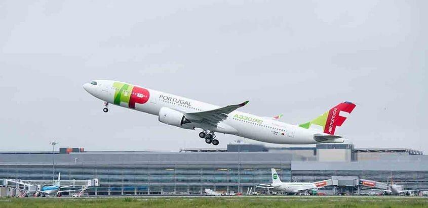 Airbus A330neo de TAP Portugal.