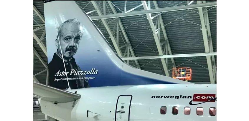 Boeing 737 de Norwegian Air Argentina.