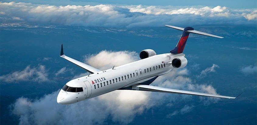 Bombardier CRJ 900 de Delta Air Lines.