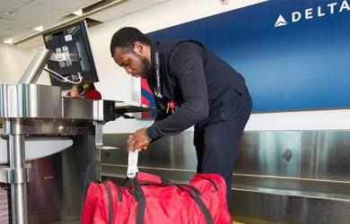 Gestión de Equipaje de Delta Air Lines.
