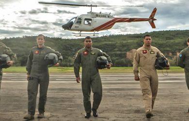 Escuadrón TH-67 Creek de la Escuela de Helicópteros.