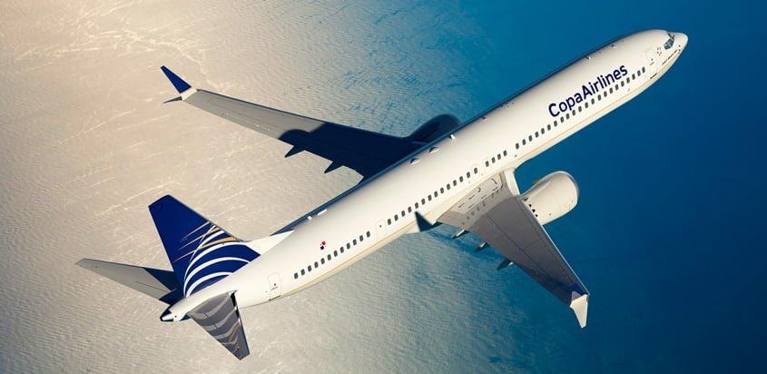Boeing 737 MAX de Copa Airlines.